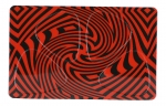 Pikcard Red Swirl