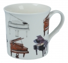 Fine Bone China Becher Pianos